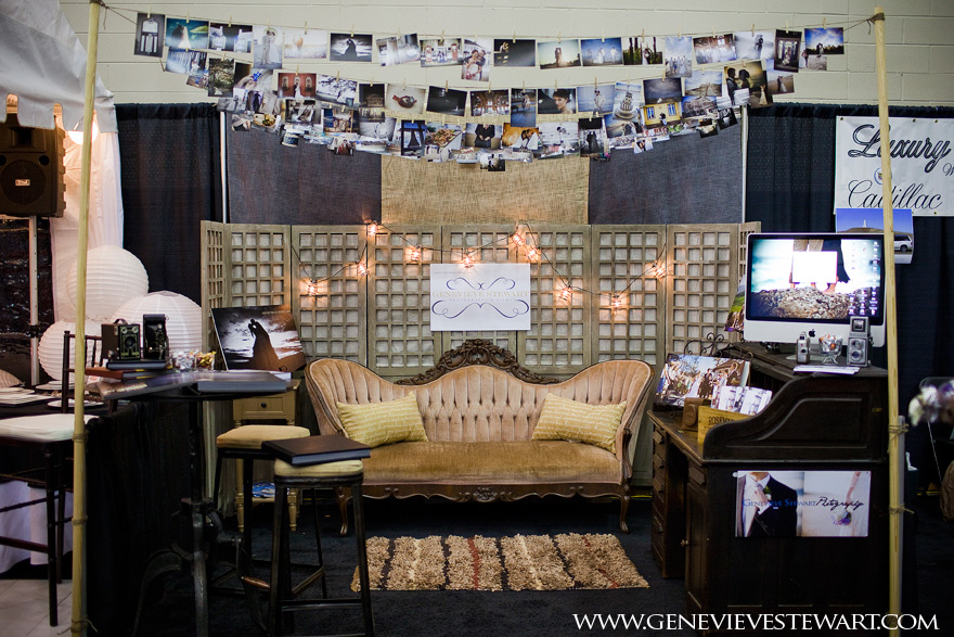 Photography Expo Stands : Our outer banks wedding expo booth genevieve